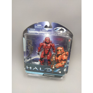 Halo 4 Red Spartan Warrior 5 Inch Action Figure Series 1 (Pre-owned/Box Damage)